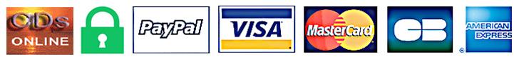 Logo cartes crédit securisées