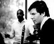 Jean-Christian Michel recording with  Kenny Clarke