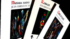 Jean-Christian Michel's sacred music discs