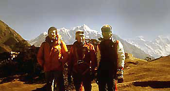 Expedition in the Himalayas, Jean-Christian Michel, Yannick Seigneur, Serge cachat